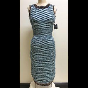 """""""SALE"""" Oscar de la Renta Knit Beaded Dress"""